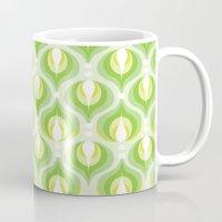 Green Dew Drops Mug