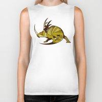 Styracosaurus Biker Tank