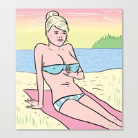 Gidget Canvas Print