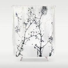 Gunpowder Branches Shower Curtain
