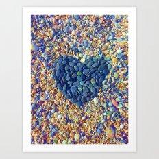 Hard Heart / 19-08-16 Art Print