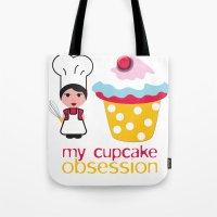 Cupcake Obsession Tote Bag