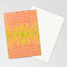 Burning fire Stationery Cards