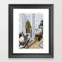 House Pets Framed Art Print