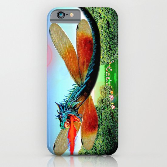 Dragon fly iPhone & iPod Case