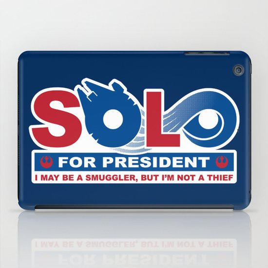 Solo for President iPad Case