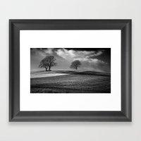 Across The Fields Framed Art Print