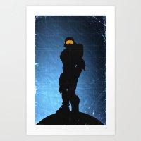 Halo 4 - Sierra 117 Art Print