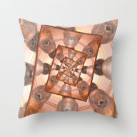 Throw Pillow featuring Infinite Reflections Of … by Phil Perkins