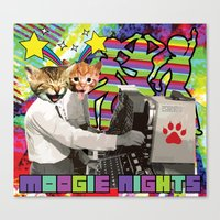 Moogie Nights Canvas Print