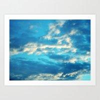Dreamy Clouds °2 Art Print