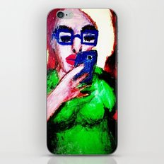 While The Sky Is Falling. iPhone & iPod Skin