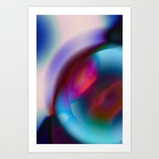 Color Vortex I Art Print