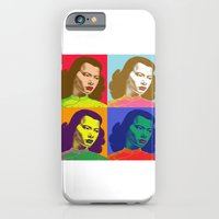 iPhone & iPod Case featuring 4 Chinese Girls by justlikeandy.co.uk Andy Warhol-style