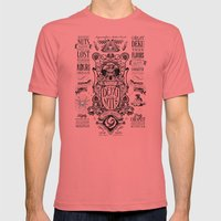 Legend Of Zelda Inspired… Mens Fitted Tee Pomegranate SMALL