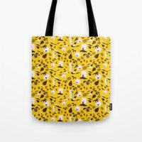 Chocolate Wasted Pattern Tote Bag