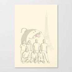 Photobomb Canvas Print