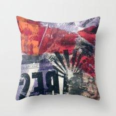COLLAGE4 Throw Pillow