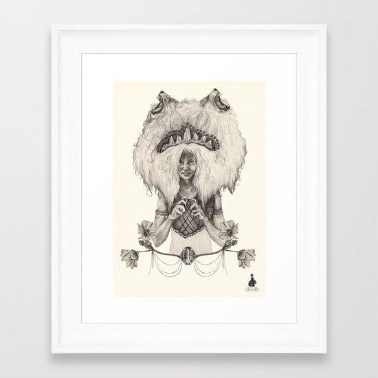 L E O  Framed Art Print