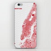 LOVE NEW YORK iPhone & iPod Skin