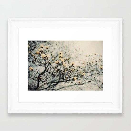 Honey Scented Breeze Framed Art Print