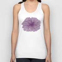 Jellyfish Flower A Unisex Tank Top