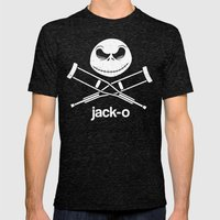 Jack-o Mens Fitted Tee Tri-Black SMALL