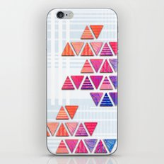Triangular composition #3 iPhone & iPod Skin