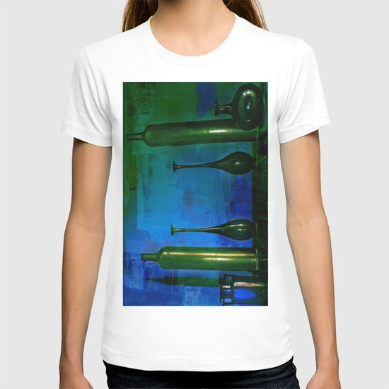 glass is green T-shirt