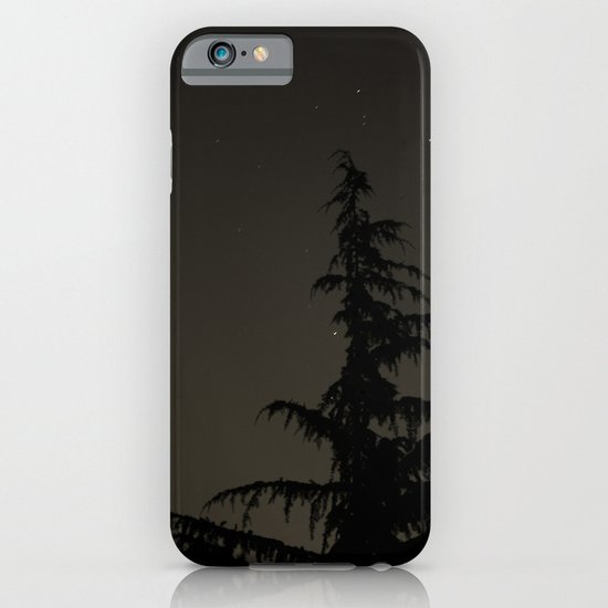 Tree in the Night iPhone & iPod Case