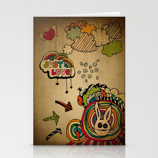 Just Love! Stationery Card