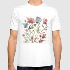 Fresh Picked SMALL Mens Fitted Tee White