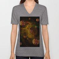 Chaos Creating Universe … Unisex V-Neck