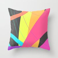Colors #1 Throw Pillow