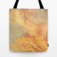 Vintage Clouds  Tote Bag