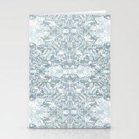 Lace Geometric // Kaleid… Stationery Cards