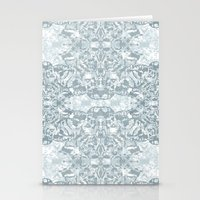 Lace Geometric // Kaleid… Stationery Cards
