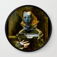 Marie de Medici V1 - Bronzino Wall Clock