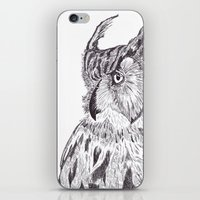 Horned Owl iPhone & iPod Skin