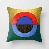 Abstract #114 (Repost) Throw Pillow
