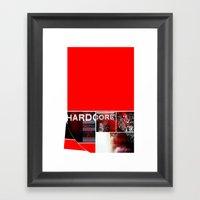 ROUGHCUT#06252015 Framed Art Print
