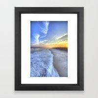 Atlantic Sunset Framed Art Print