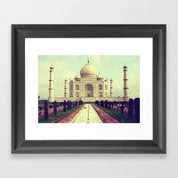 Taj Mahal By Rasmus Verd… Framed Art Print