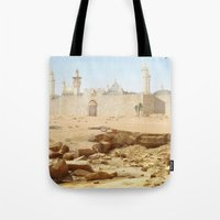 Desert City Tote Bag