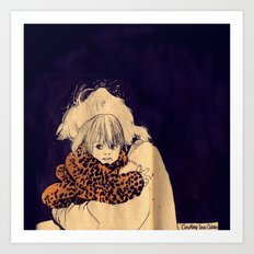 Cobains Art Print