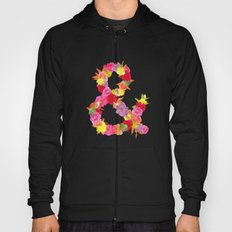 Flower Ampersand Hoody