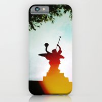 iPhone & iPod Case featuring 'ANGEL' by Dwayne Brown