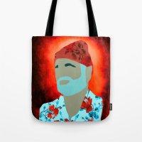 Floral Zissou Tote Bag