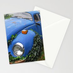 Nature: 1 - Volkswagen Beetle: 0 Stationery Cards