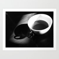 Tea And Light Art Print
